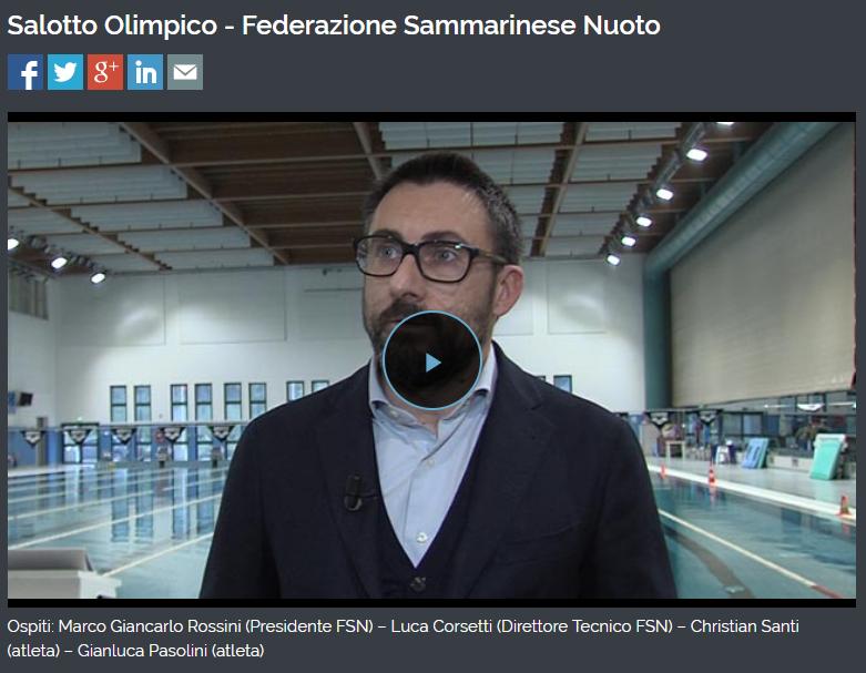 FEDERNUOTO Salotto Olimpico